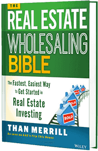 Real Estate Wholesaling Bible Book Cover