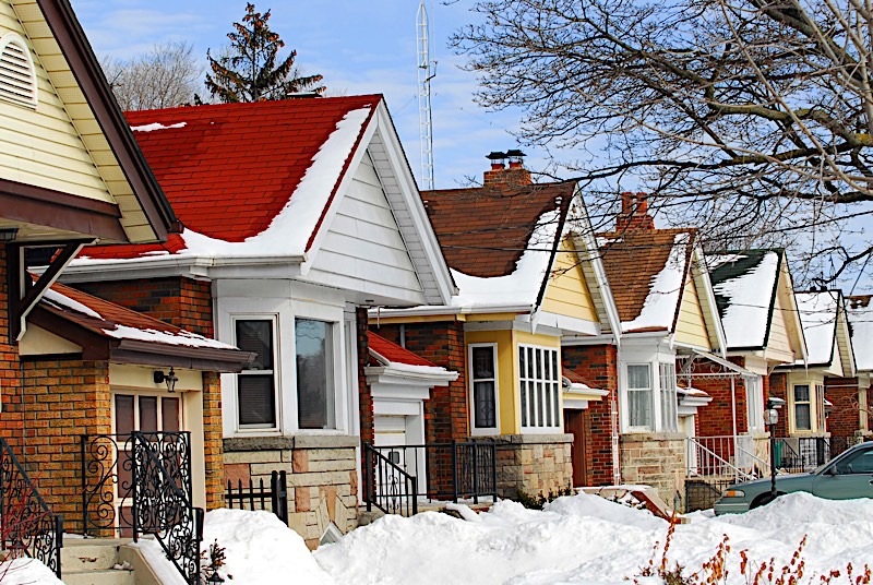 Winter real estate market