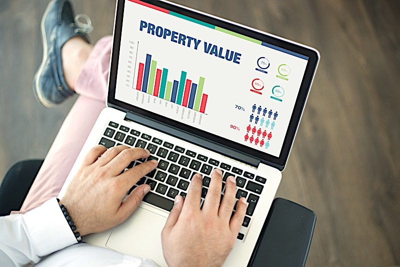 Rental property value calculator