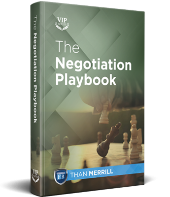 The Negotiation Playbook